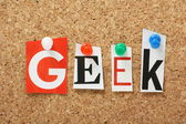 The word Geek — Stock Photo