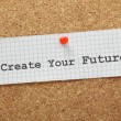 Create Your Future — 图库照片