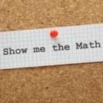 Постер, плакат: Show Me The Math