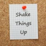 Shake Things Up — Stock Photo