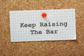 Raise The Bar — Stock Photo