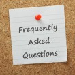 Frequently Asked Questions — Stock Photo #43104935