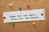 Hope For The Best — Stock Photo