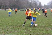 Amateur Football Match — Stock Photo