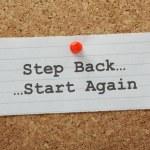 Постер, плакат: Step Back Start Again