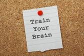 Train Your Brain — Stock Photo