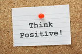 Think Positive! — Stock Photo
