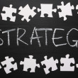 The Strategy Puzzle — Stock Photo #48416171
