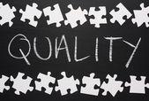 The Quality Puzzle — Stockfoto