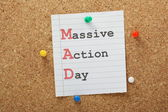 Massive Action Day — Stockfoto