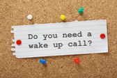 Do You Need a Wake Up Call? — Stock Photo