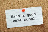 Find A Good Role Model — Stock Photo