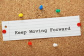 Keep Moving Forward — Stock Photo