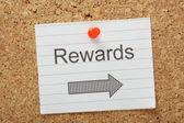 Rewards This Way — Stock Photo