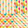 Geometric pattern — Vector de stock #12042193