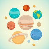 Planeta — Stock vektor