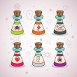 Potions - Stock Vector