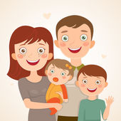Family — Stock Vector