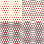 Patrón geométrico de navidad — Vector de stock