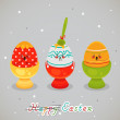 Royalty-Free Stock Imagen vectorial: Easter drama