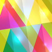 Abstract triangular background — Stock Vector