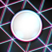 Bannière abstract lumineux — Vecteur