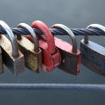 Lock, tradition of love — Stock Photo