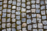 Texture of square stones — Stock Photo