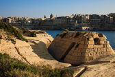 Old storage building constructed, Malta — Stockfoto