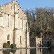 Stock Photo: L'Abbaye-de-Fontenay. Abbey of Fontenay.