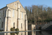 L'Abbaye-de-Fontenay. Abbey of Fontenay. — Stockfoto