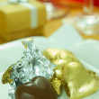 Love Shape Chocolate — ストック写真