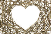 Branches in Love Shape — Stock Photo