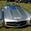 Old timer mercedes 300 sls — Stock Photo