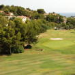 Golf course on the Costa Blanca — Stock Photo