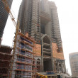 Contruction in Abu Dhabi — Stock Photo
