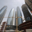 Contruction in Abu Dhabi — ストック写真