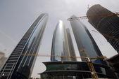 Contruction in Abu Dhabi — Stock Photo