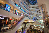 Shopping center in Dusseldorf — Stock Photo