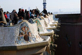 Parc Guell — Stock Photo