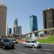 Business district Dubai — Stock Photo