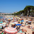 The beach in Cannes — Stock Photo #25035685