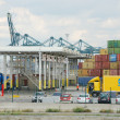 Stock Photo: Containers in port of Antwerp