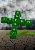Zielonej energii i klimatu — Zdjęcie stockowe