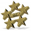 Five star service — Stock Photo #17365751