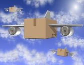Air freight — Stock Photo