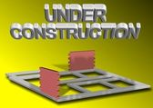Project under construction — Stock Photo