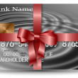 Gift credit card - Stockfoto