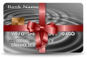 Gift credit card — Stock Photo