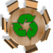 Recycling industry — Stock Photo